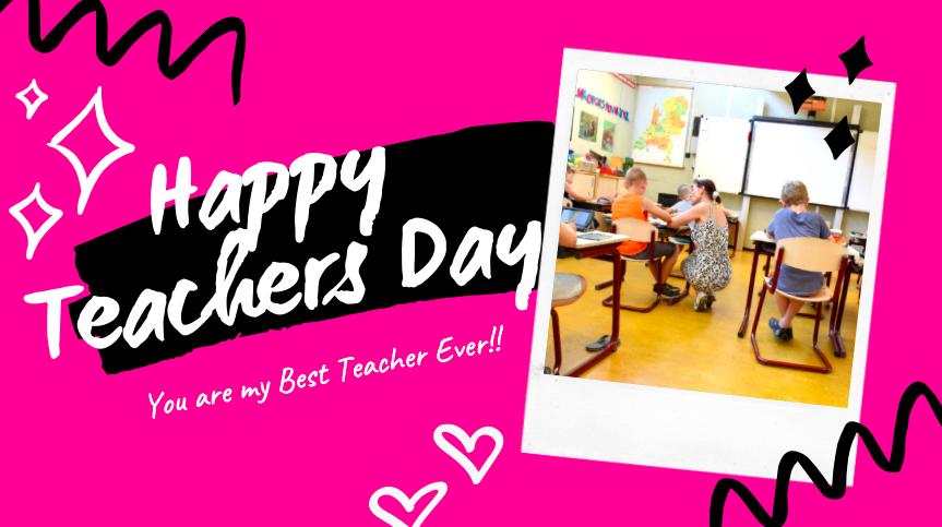 happy teachers day image