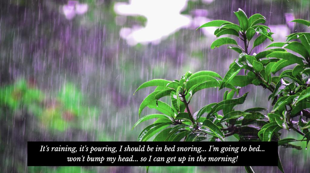 Rainy Day Status