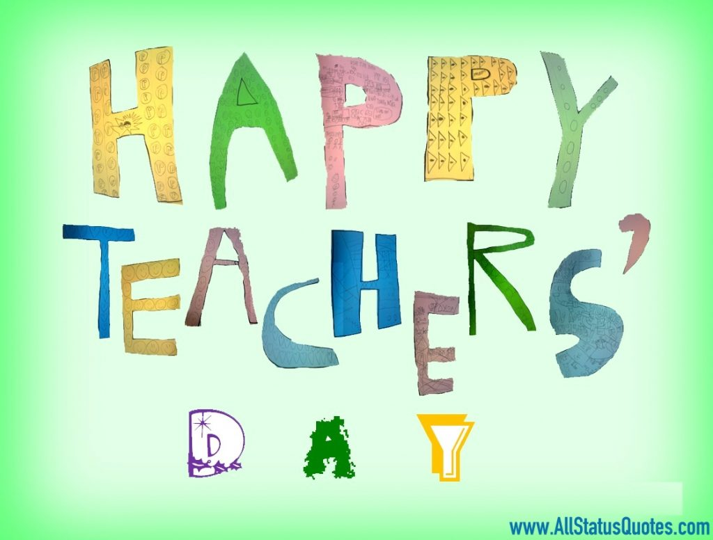 Happy Teachers Day Status