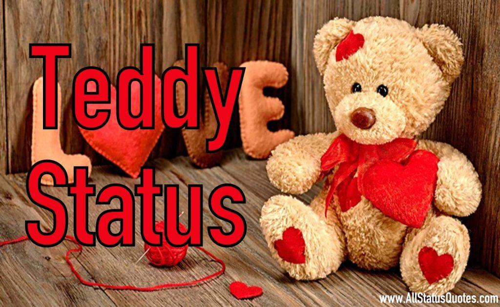 Teddy Status Image