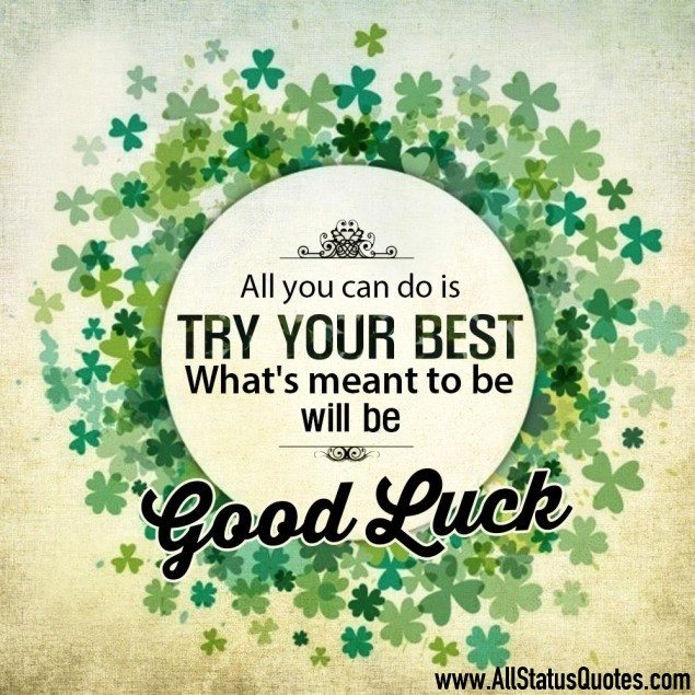 Good Luck Quotes Impressive Good Luck Status For WhatsApp Short Good Luck Quotes