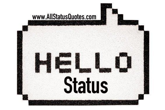 Hello Status