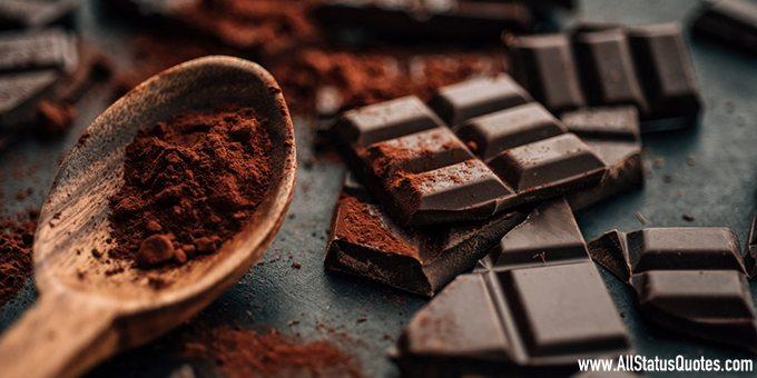 Chocolate Day Status Image