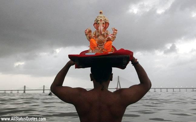 Ganesh Chaturthi Statu
