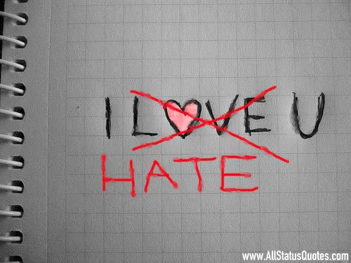 Hate You Status