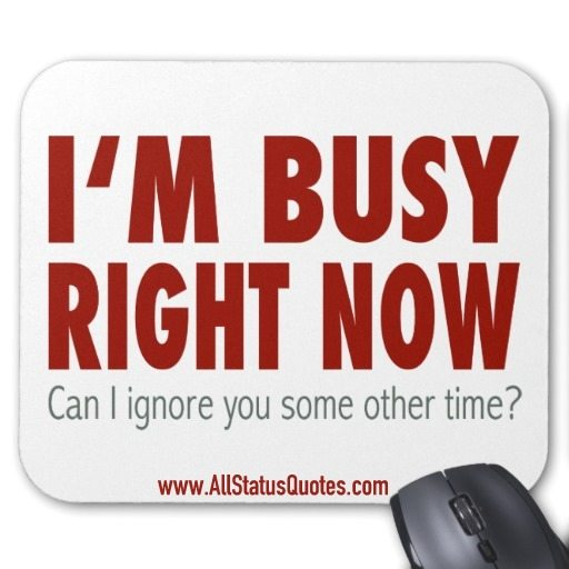 Busy Quotes Image