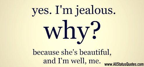 Jealous Status Image