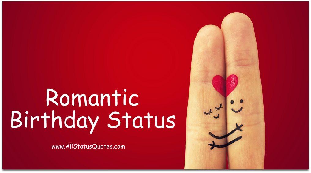 Romantic Birthday Status