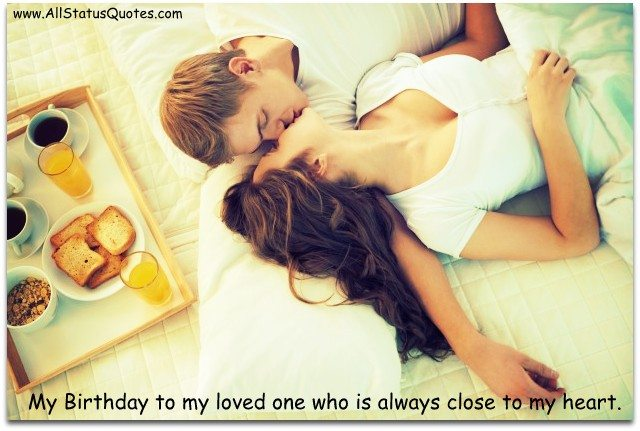 Romantic Birthday Status Image