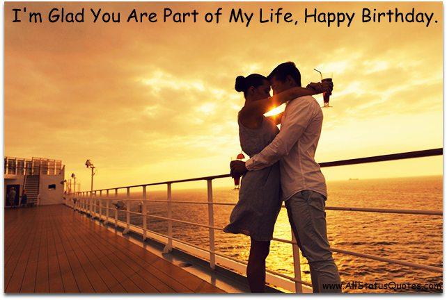 Romantic Birthday Status Picture