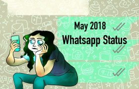 whatsapp status may 2018