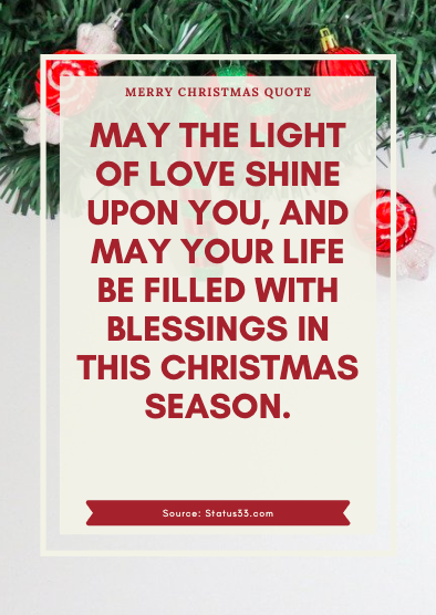 Merry Christmas Status for bf