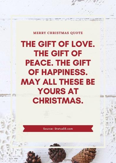 Merry Christmas Status for husband