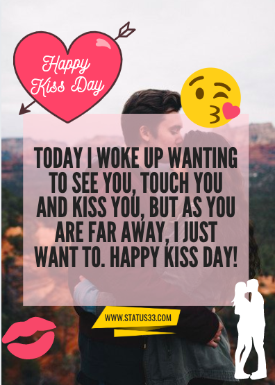 kiss day quotes with image 1