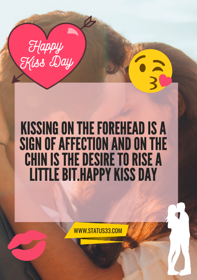 kiss day quotes with images