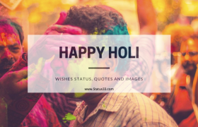 50 Best Happy Holi Wishes Status, Quotes and images