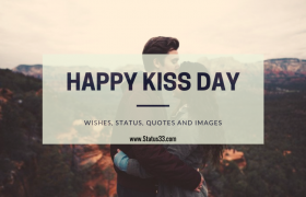50 Best Happy Kiss Day Wishes Status, Quotes and images