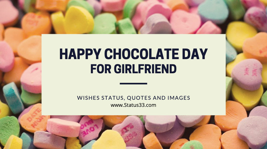 50 Best Happy Chocolate Day Wishes Status, Quotes and images