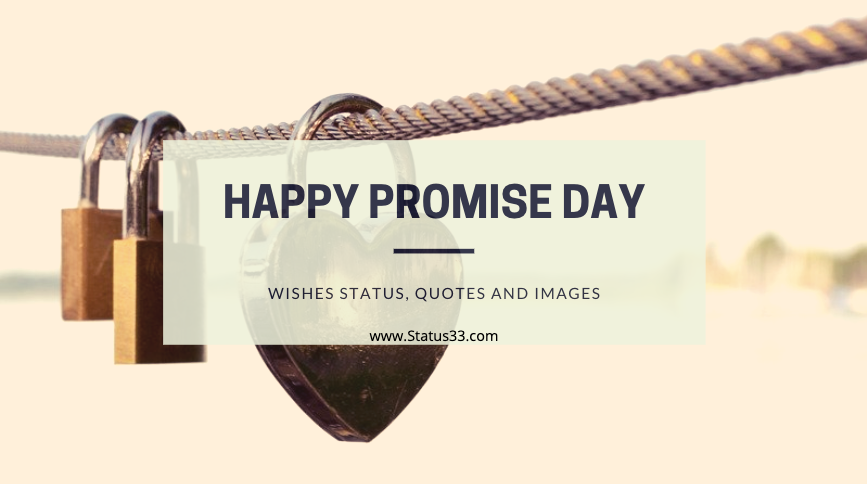 Happy Promise Day Wishes Status, Quotes and images