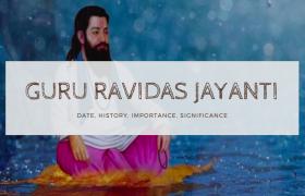 Guru Ravidas Jayanti in India