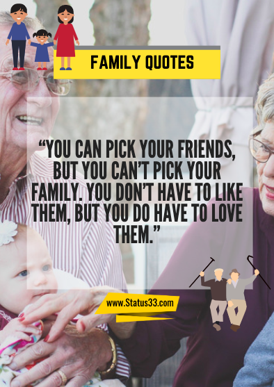 our family quotes