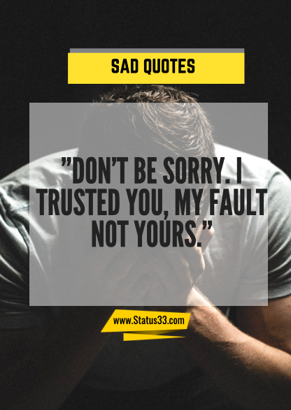 really sad quotes