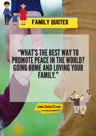 family quotes in english
