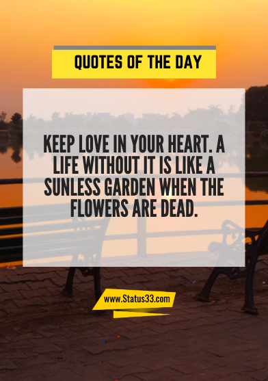 quotes of the day about life