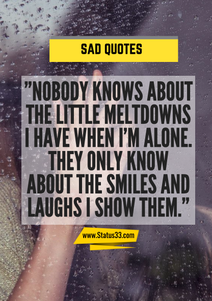 very sad quotes about life