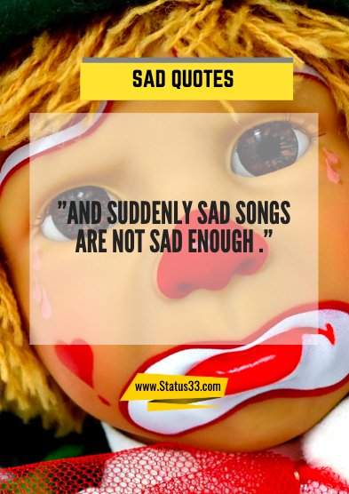 sad meaningful quotes