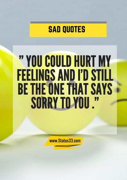 im sad quotes