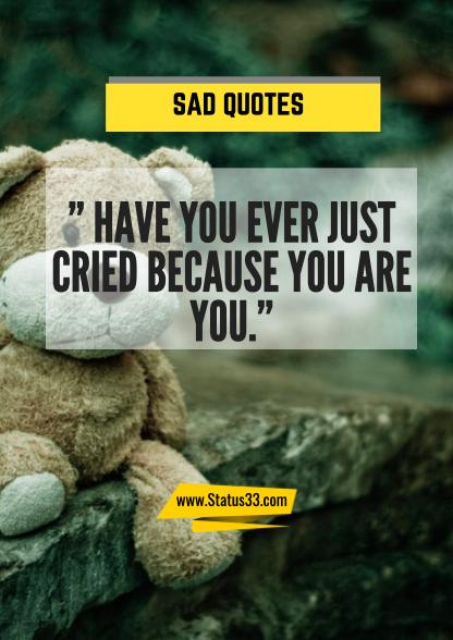 sad sayings about love