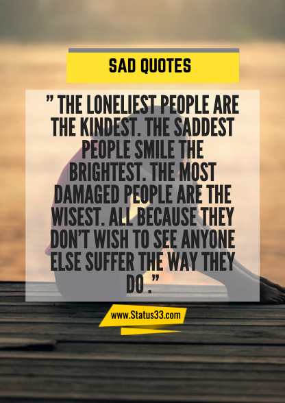 depressing quotes about life