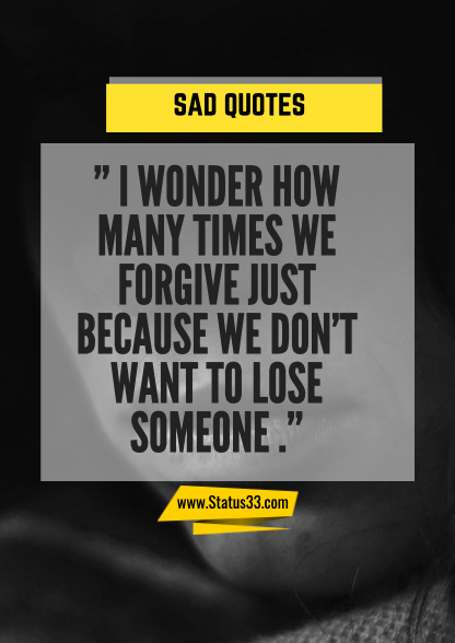 long sad quotes