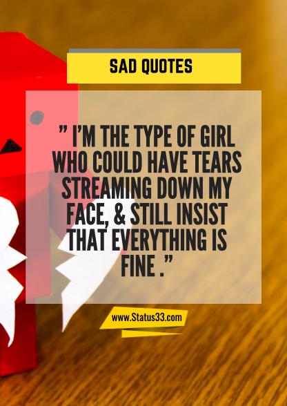sad sentences