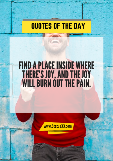 latest quotes of the day
