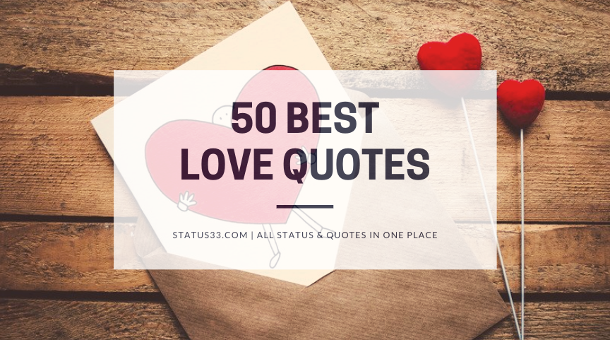 50 Best Love Quotes with Images of All Time