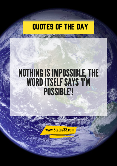 motivational quotes of the day in english