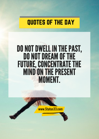 inspirational quotes of the day for life