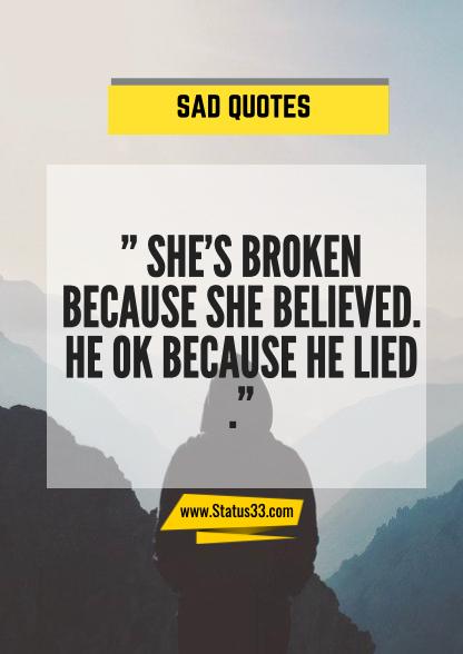 sad lines