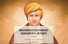 Maharishi Dayanand Saraswati Jayanti in India - Date, History, Importance