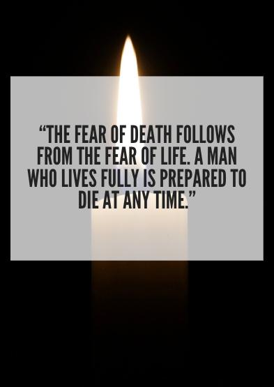 best death quotes