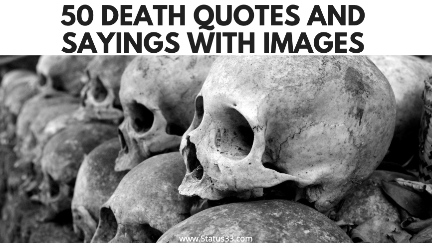 50 Death Quotes and Sayings with Images