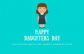 Happy Daughters Day Image, Wallpaper 2