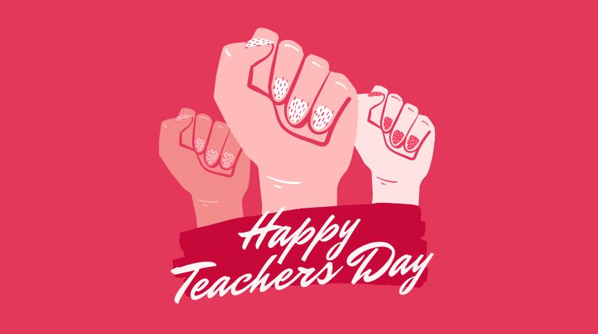 Happy Teachers Day Wallpaper | Image 2