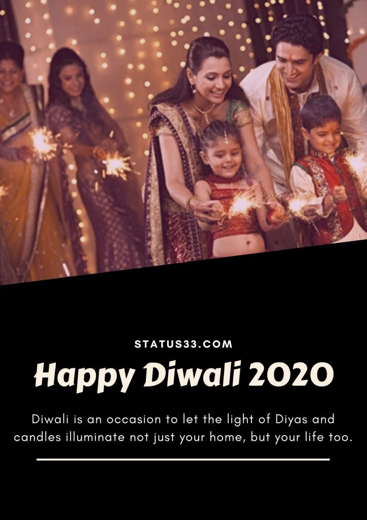 2020 diwali greeting card