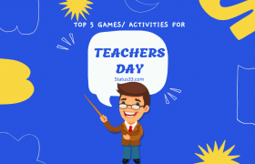 Happy Teachers Day Games for Kids or Students