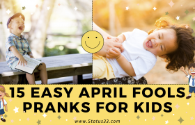 Easy April Fools Pranks for Kids