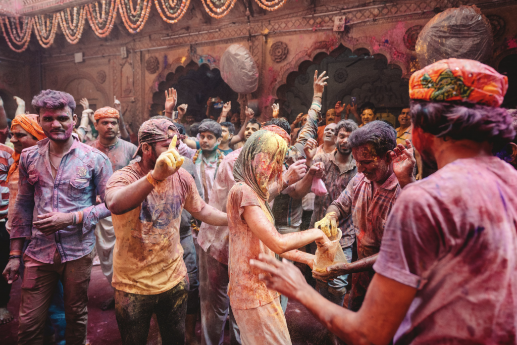 HAPPY HOLI FESTIVAL COLOR OF SPRING IN INDIA 2021